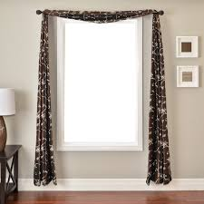 window treatments with scarves ways hang window scarf window