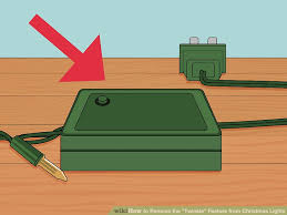 christmas light blinker adapter how to remove the twinkle feature from christmas lights