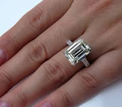 spectacular art deco 6 48ct emerald cut and baguette diamond