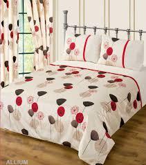 Bed Covers Set Wine Colour Bedding Duvet Cover Set Stylish Poppy Floral
