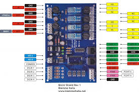arduino relay shield for home and industrial automation the bmini