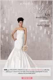 free wedding dresses win a free wedding dress style my wedding contest munaluchi