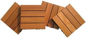 balau wood deck