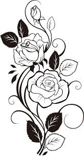 best 25 rose tattoo stencil ideas on pinterest traditional