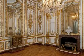 this is versailles bathroom of louis xv louis xvi