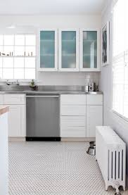 Penny Tile Kitchen Backsplash by Stainless Steel Backsplash Tiles Kitchen Contemporary With Frosted
