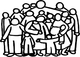 church family people outline coloring page wecoloringpage
