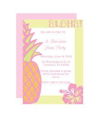printable party invitations hawaiian party invitation chicfetti