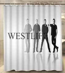 Custom Shower Curtains Westlife Kian Shane Nicky Bryan Modern Classical Custom