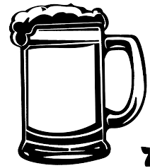 cartoon beer bottle beer clipart