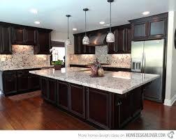 light granite countertops with dark cabinets dark cabinets light granite different granite kitchen dark kitchen