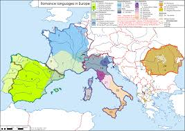 Language Map Of Europe by Romance Languages In Europe 3355x2372 Mapporn