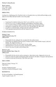 medical coding resume http resumesdesign com medical coding