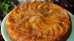emeril u0027s peach upside down cake recipe abc news