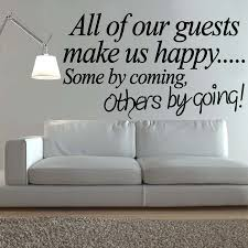 Quotes About Coming Home by 5pcs Lot Wall Art Welcome Guests Life Quote Decal Sticker New