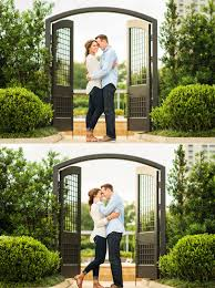 Photography Houston Mcgovern Centennial Gardens Engagement Portraits