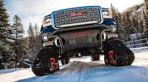 gmc sedan concept tracked gmc sierra all mountain concept hits the slopes at vail