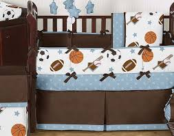 baby bedding for boys sports theme 14 cool sports themed crib