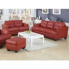 Bonded Leather Loveseat Simmons Upholstery Soho Cardinal Bonded Leather Loveseat Free