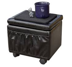 Rolling Ottoman With Storage by Paris Furniture Wheeled Storage Ottoman Furniturendecor Com
