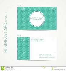 doodle creative simple business card template stock vector image