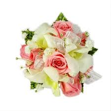 pink corsage pink and white corsage pink corsage for prom