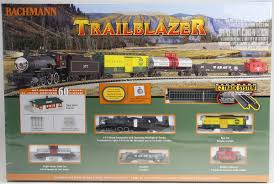 bachmann n 24024 trailblazer electric set with e z track