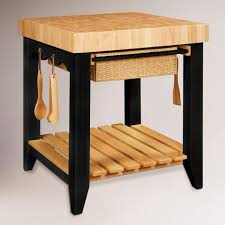 farmhouse butcher block kitchen island world market