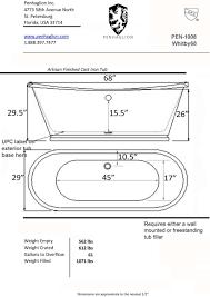 Standard Height Of Bathroom Vanity by Designs Impressive Standard Bathtub Depth Photo Standard