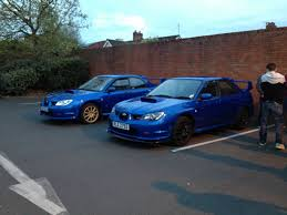 subaru blobeye black first subaru finally u002706 hawkeye wrx sti type uk with my friends