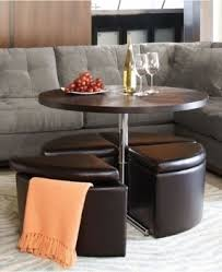 Leather Top Coffee Table Exciting Leather Round Coffee Table Ottoman U2013 Leather Ottoman