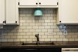 kitchen backsplash beautiful white glass subway tile kitchen
