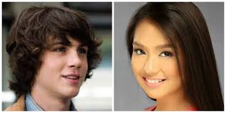katrine bernardor hair color logan lerman and kathryn bernardo will be paired in a photo shoot
