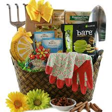 garden gift basket gardening gift basket