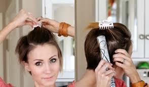 Frisuren F Kurze Haare Zum Selber Machen by Kurze Haare Locken Frisuren Mit Locken Für Kurzhaarschnitt