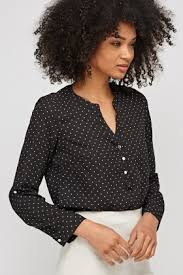 black polka dot blouse polka dot blouse just 5