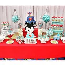 superman baby shower scandy dessertbuffets crystals candy n dessert