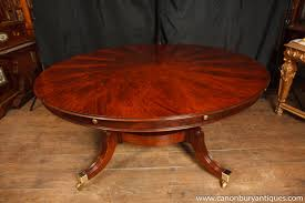 Expanding Table by Dining Room Expandable Round Walnut Dining Table Large Round