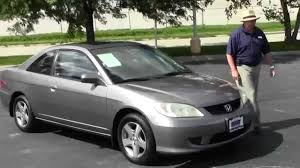 used 2004 honda civic ex coupe for sale at honda cars of bellevue