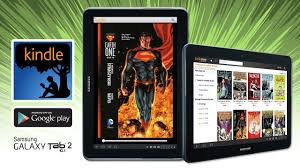 kindle graphic novel u0026 comics on samsung galaxy tab 2 10 1 youtube