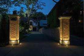 solar lights for driveway pillars home lighting driveway and landscape lights uno woodworks