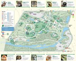 Zoo Map Bronx Zoo Maplets