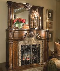 Cfm Corporation Fireplace by Furniture Windsor Court Fireplace With Mirror Ai 7022