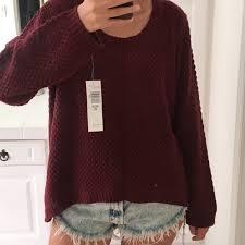 maroon sweaters 79 annalee sweaters maroon sweater from chelsae s