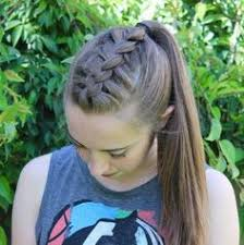 Cute Sporty Hairstyles Volleyball Hair Hair Care U0026 Styles Pinterest Volleyball