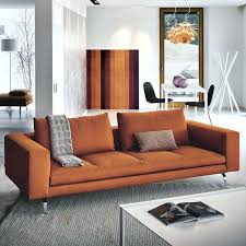 canap contemporain cuir canape zanotta canapac modulable contemporain en tissu cuir bruce