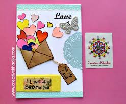 handmade cards valentines day creative handmade cards forsale creative khadija