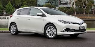 toyota hatchback toyota corolla hybrid hatch coming to australia in 2016