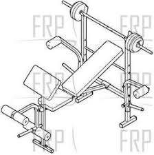 Weider Pro Bench Weider Pro 245 831 156790 Fitness And Exercise Equipment