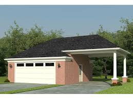 garage plans with carports detached 2 car garage plan with